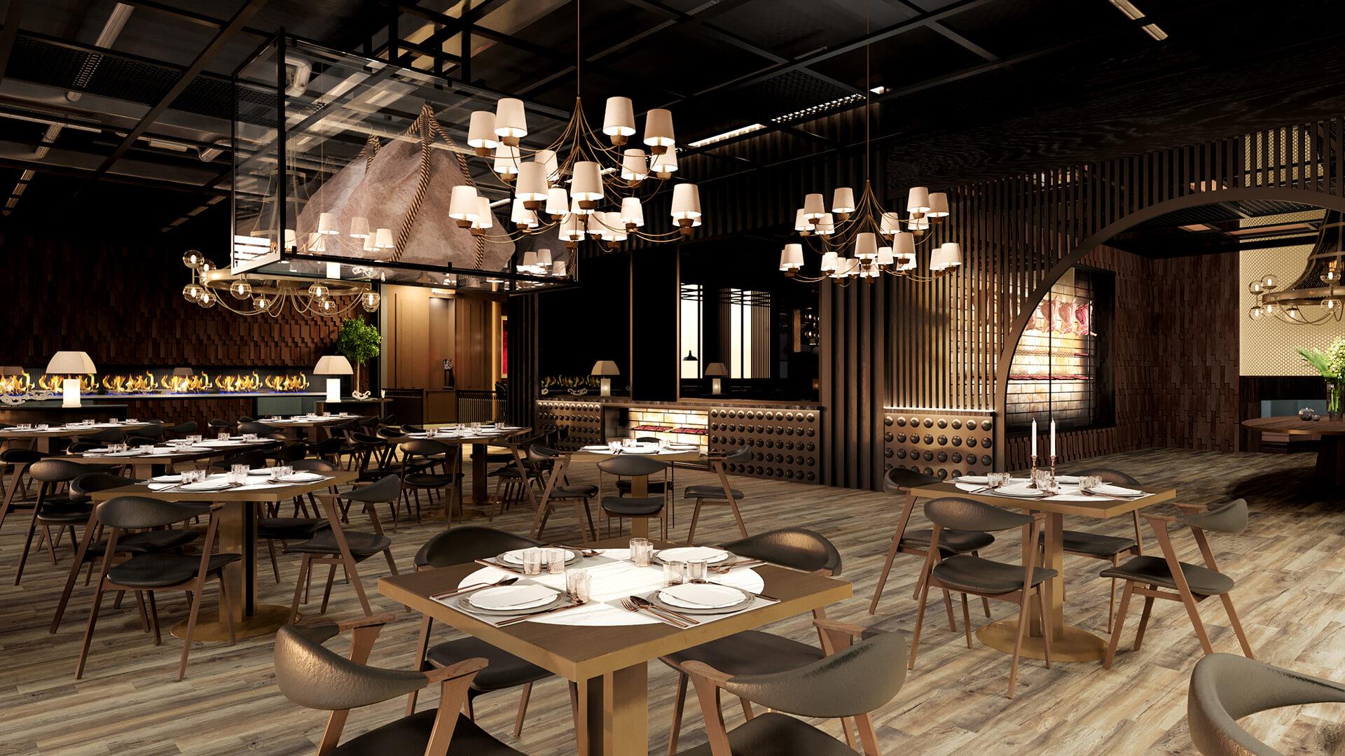 Steak House Quark Studio Architects Architecture Interior Design