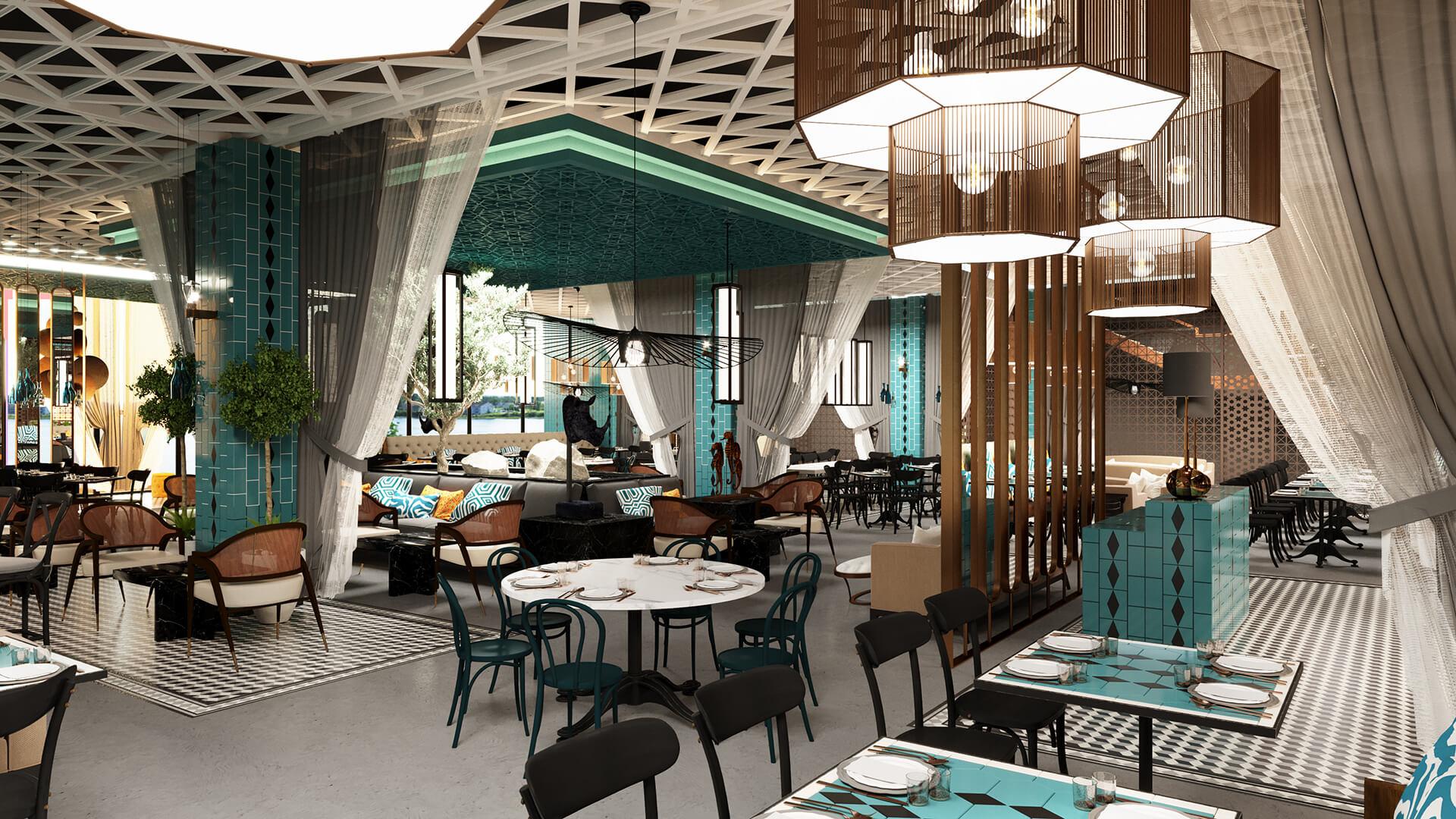 Traditional Turkish Restaurant Quark Studio Architects Architecture Interiors